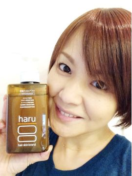 haru黒髪スカルプ・プロ・芸能人・中澤裕子