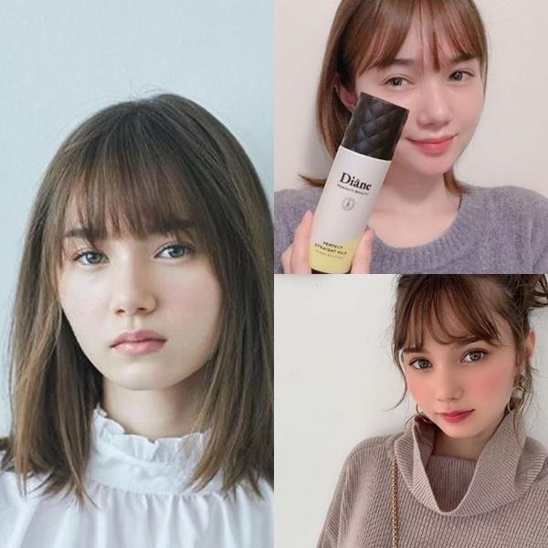 髪が綺麗な女性芸能人【女優・モデル】・マーシュ彩