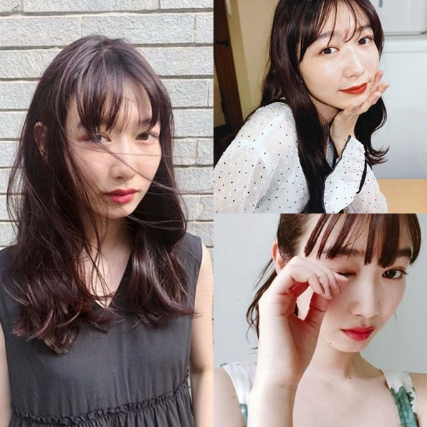 髪が綺麗な女性芸能人【女優・モデル】・岡本夏美