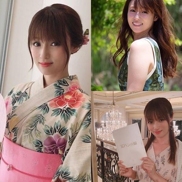 髪が綺麗な女性芸能人【女優・モデル】・深田恭子