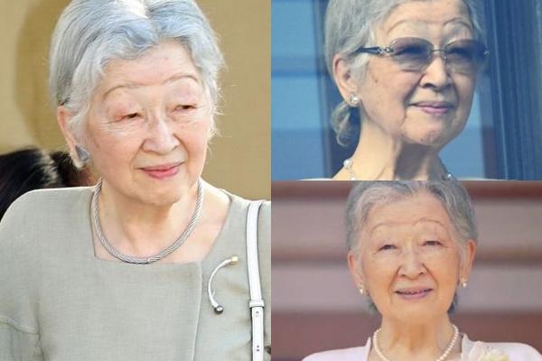 グレイヘアが似合う女性有名・芸能人【日本】・上皇后美智子様