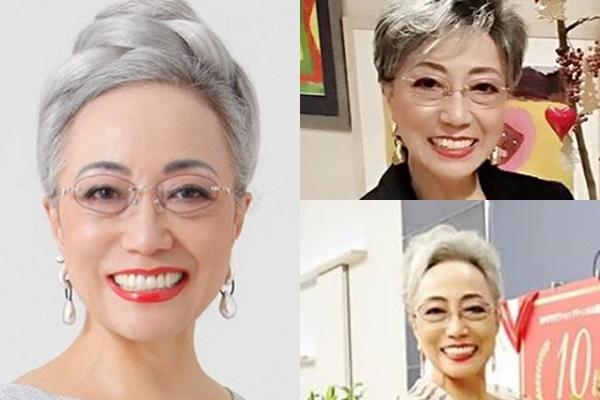 グレイヘアが似合う女性有名・芸能人【日本】・加藤タキ