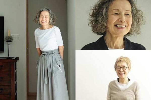 グレイヘアが似合う女性有名・芸能人【日本】・坂井より子