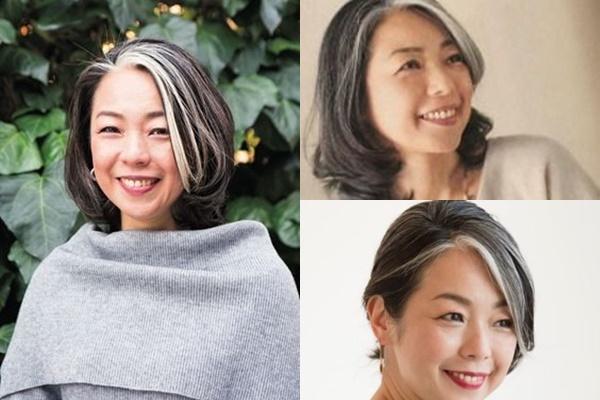 グレイヘアが似合う女性有名・芸能人【日本】・柳瀬久美子