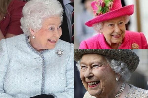 グレイヘアが似合う女性有名・芸能人【海外】・エリザベス女王