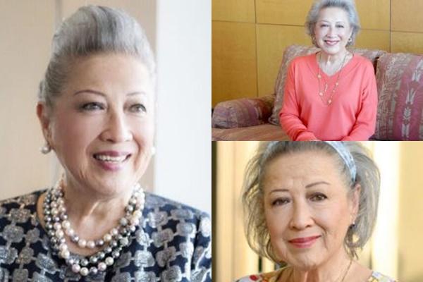 グレイヘアが似合う女性有名・芸能人【日本】・飯野晴子