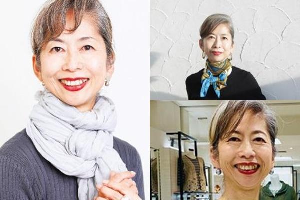 グレイヘアが似合う女性有名・芸能人【日本】・依田邦代